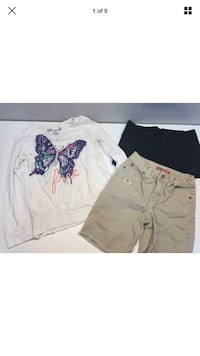 Lot Of 3 Girls Clothes Faded Glory Shorts, Mad Style, Mudd  Size 6-6X Kissimmee, 34747