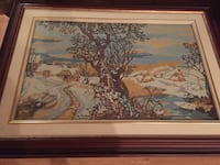 Needlepoint Art with Frame Guelph, N1K 2A1