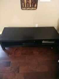 black and gray TV stand - center table  Dallas, 75214