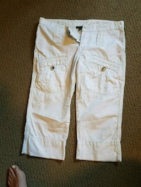 two white and brown denim jeans Kelowna, V1X 6H1
