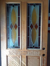 Solid Mahogany  Stained glass door Palm Bay, 32908