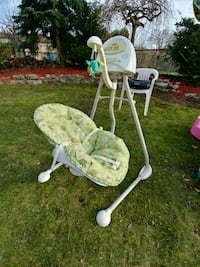 Fisher price cradle and swing - scatterbug Toronto, M1P 4H8