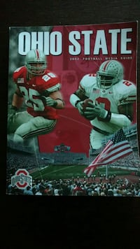 Official Ohio State Buckeye NCAAF Media Guides. Vienna, 22182