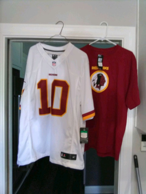 buy popular f67a2 706d4 Size XL stitched authentic Redskins jersey