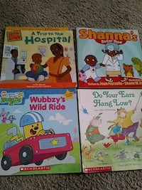 three assorted story books collection Harker Heights, 76548