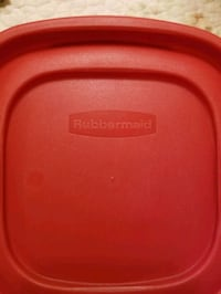 Rubbermaid food storage containers Essex, 21221