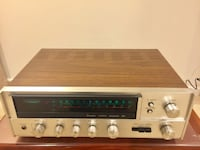 Vintage Sansui 551 Stereo Receiver Silver Spring