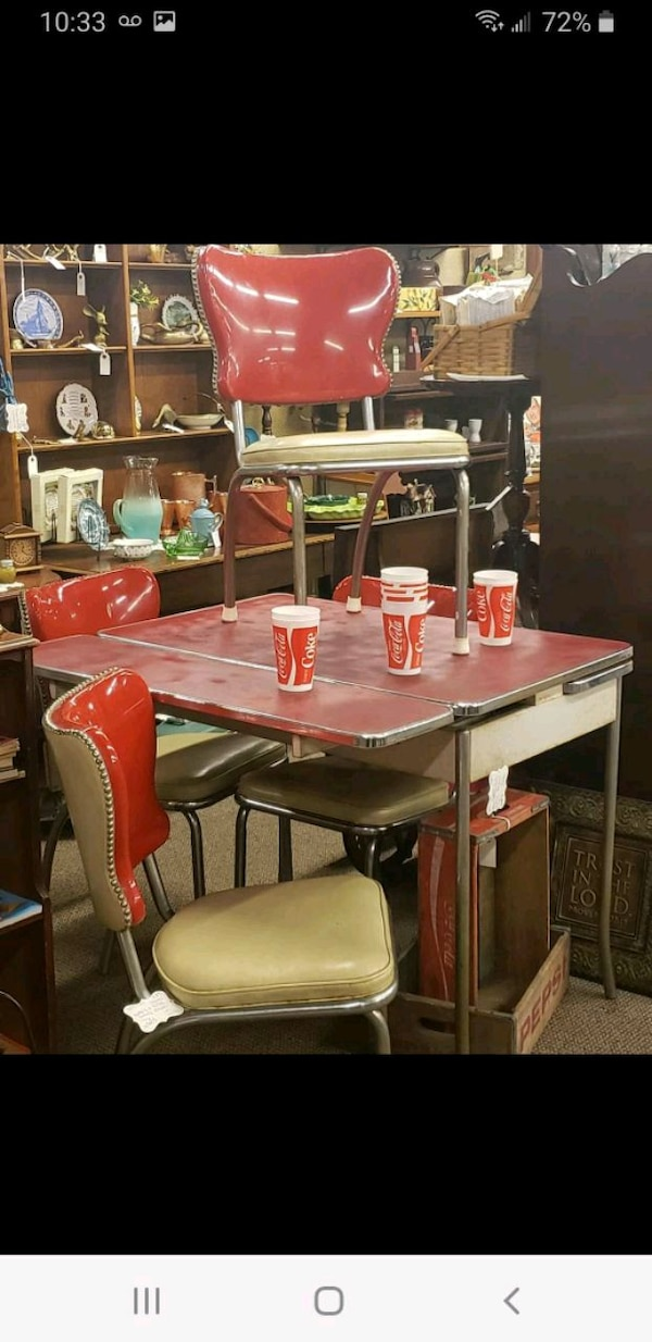 Used Vintage Formica Table And Chairs For Sale In Hebron Letgo