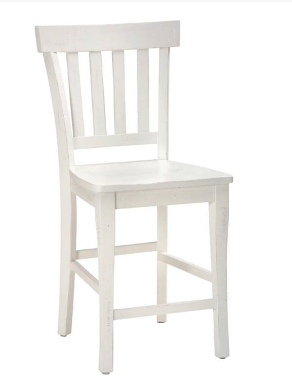 4 Rustic Farmhouse Counter Height Chairs 35419c60-7342-47b2-a699-1c163f67bea6