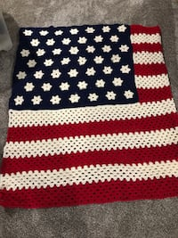 Patriotic afghan - new Council Bluffs, 51503