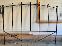 Queen iron headboard, nuts and bolts not included  Boyds, 20841