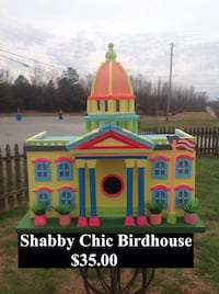 pink and teal shabby chic birdhouse Hopkinsville, 42240