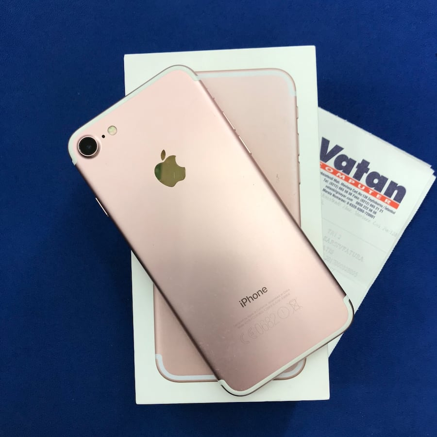 Apple iPhone 7 32GB Pembe c4996677-c014-4ae8-b178-cdd39502f925