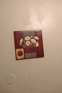 brown and white floral painting Waukegan, 60085
