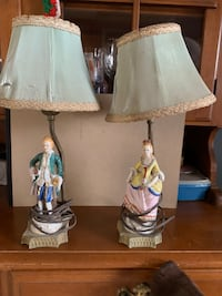 two white-and-blue table lamps Bridgeville, 19933