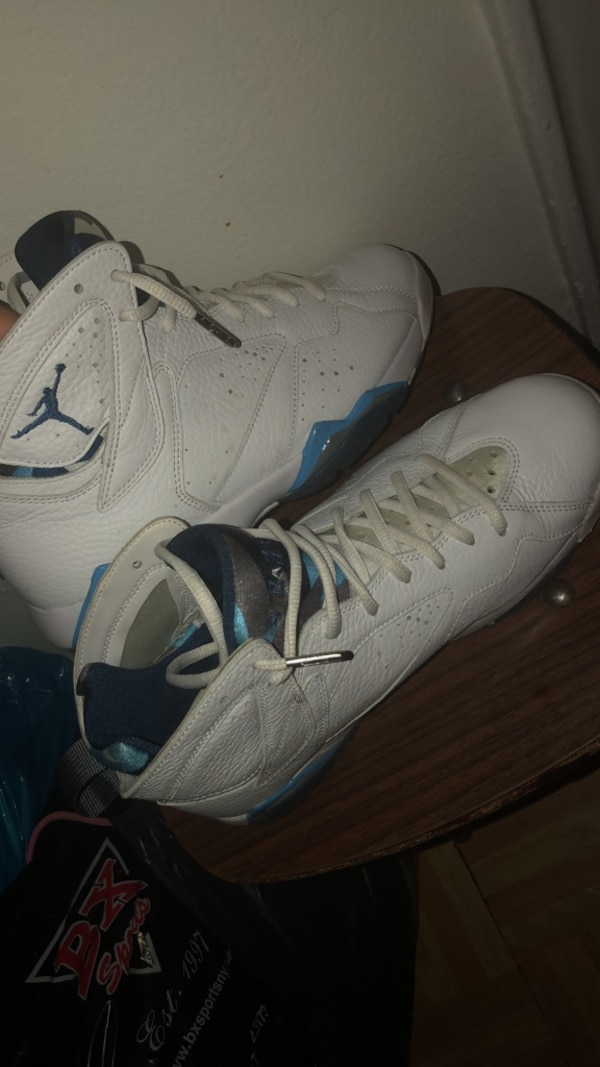 0f86f1046fdec9 Used size 8.5 Air Jordan Retro French Blue 7s Men for sale in New York -  letgo