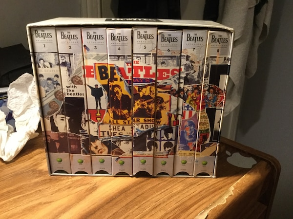 Beatles vhs Anthology Used Not Tested. Pickup only. Jane and Sheppard area