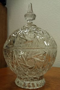 CANDY DISH - Pinwell 24% Lead Crystal