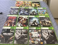 Xbox 360 Games. All excellent Condition. Pick up ONLY. Brampton, L6Y