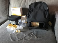 Medela Pump In Style Double Electric Breast Pump (Backpack) Mississauga, L5B 1P2