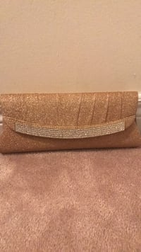 brown and gray leather wristlet Ajax, L1T 4C9