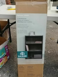 new in box 3 shelf bookcase from Beginnings