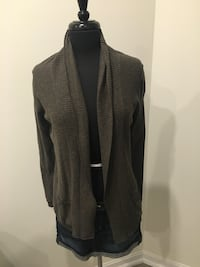 New banana republic cardigan size M