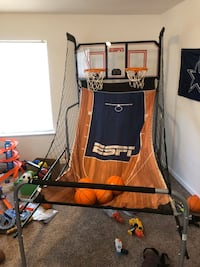 Dual Basketball hoop