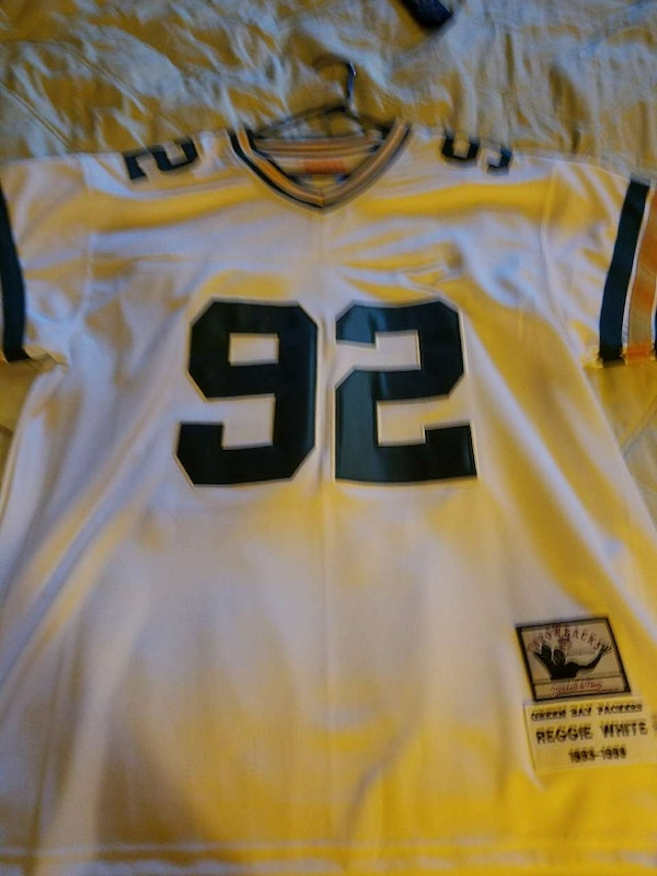 official photos f0f0c 84789 Reggie White Green Bay Packers jersey