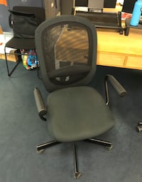 All black mesh chairs WASHINGTON