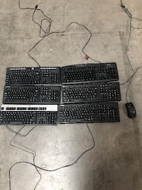 Used keyboards and 1 mouse CAMARILLO