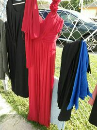 women's red maxi dress 1486 mi