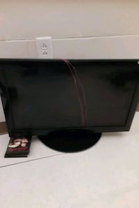 TV with built in DVD player  no remote