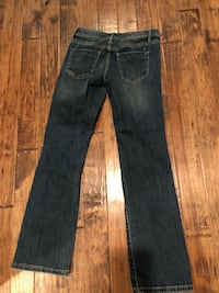 Mossimo Boot Cut Low Rise Jeans Sz 0/25S Rocky Face, 30740