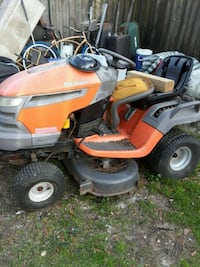 orange and gray ride on lawn mower Gulfport, 39507