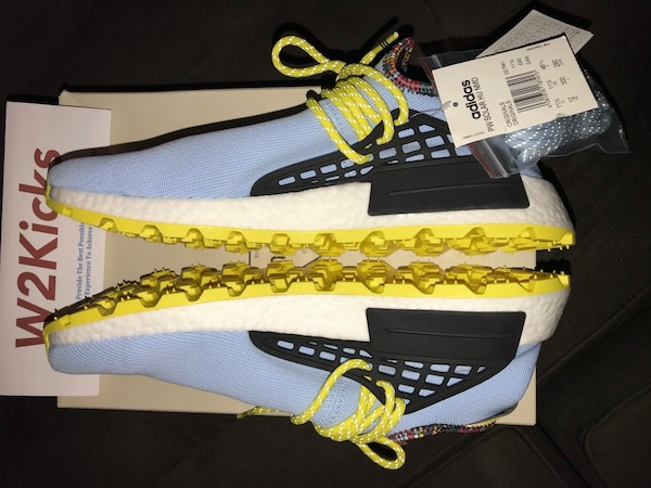 7586b956d Used Adidas Pharrell Williams NMD Human Race Inspiration Pack Clear ...