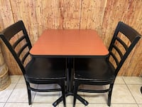 Restuarant Tables and chairs. Great condition.  Chairs $15 Table $25 Toronto, M3H 1S9