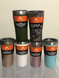 20-oz. six assorted ozark trail vacuum-insulated stainless steel tumblers Henrico, 23228