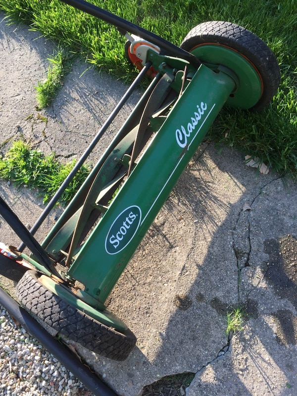 Scotts Reel 20 in. Push Reel Lawnmower