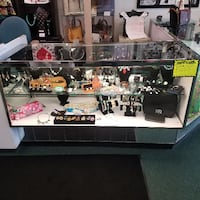 GLASS DISPLAY CASES AUGUSTA