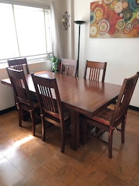 Dining Set for 6 - Classic Mission Style Arlington, 22209