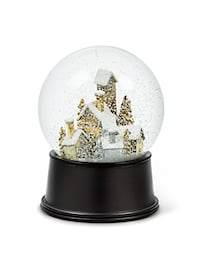 NEW Abbott 27-SHAKE/LG MET Collection Snow Globe Village Scene  Toronto