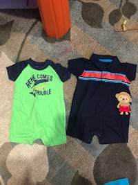 Infant Boys Size 0-3 Months Summer Outfits Falls Church, 22043