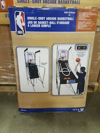 NBA Single shot arcade basketball  Mississauga, L5T 2S9