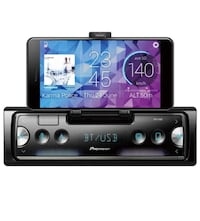 Pioneer Single-DIN in-Dash Mechless Smart Sync Receiver with Bluetooth Gardena, 90249