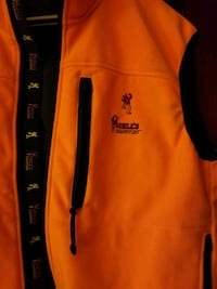 Hells Canyon Browning Sleeveless Orange Jacket 42 km