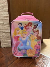 Girls Princess Suitcase