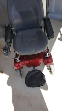 black and red powered wheelchair El Paso, 79938