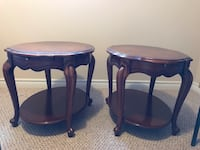 Antique side tables with tray Barrie, L4M 0G3