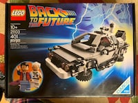 LEGO Back to the Future Time Machine 21103 Fort Lee, 07024